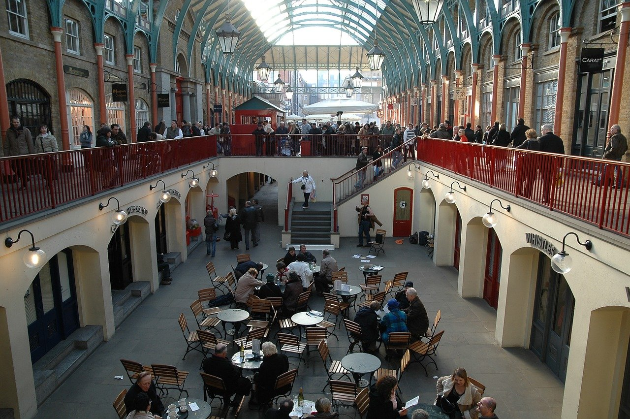 Covent Garden Market, Places to visit in London