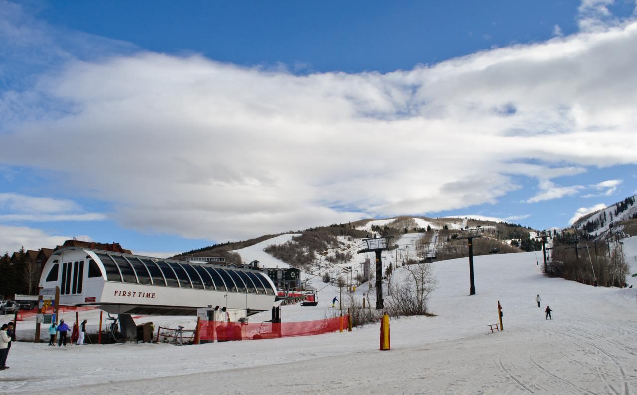 Deer Valley Resort, Park City, Utah, Visit in USA