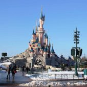 Disneyland, Los Angeles, California, Visit in USA