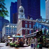 Faneuil Hall Marketplace, Boston, Massachusetts, Visit in USA