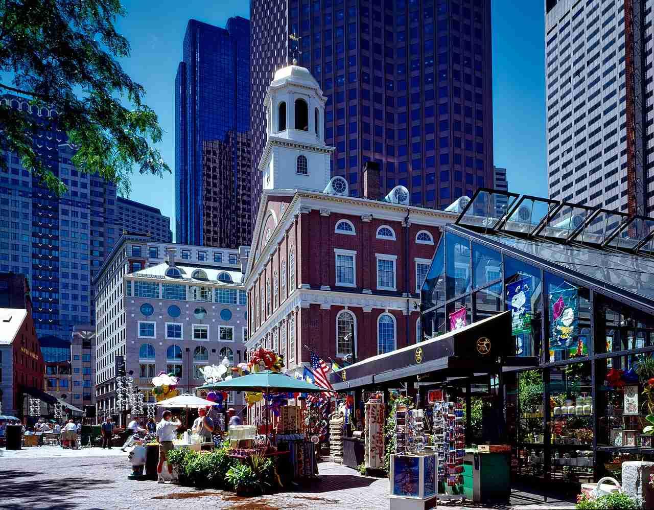 Faneuil Hall Marketplace, Boston, Massachusetts, Visit in USA