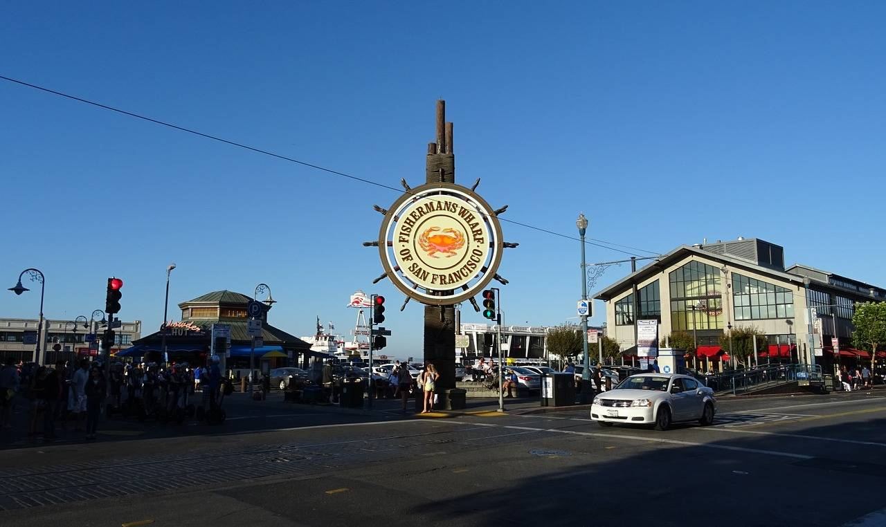 Fisherman's Wharf, San Francisco, California, Visit in USA