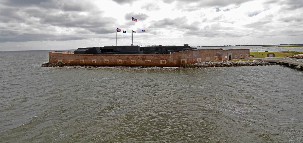 Fort Sumter, Charleston, South Carolina, Visit in USA