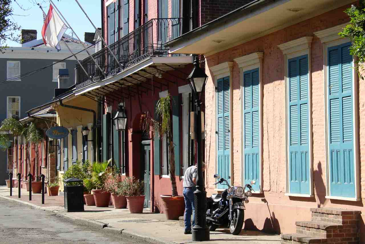 French Quarter, New Orleans, Louisiana, Visit in USA