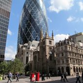 Gherkin, Places to visit in London