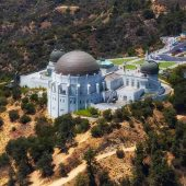 Griffith Observatory, Los Angeles, California, Visit in USA