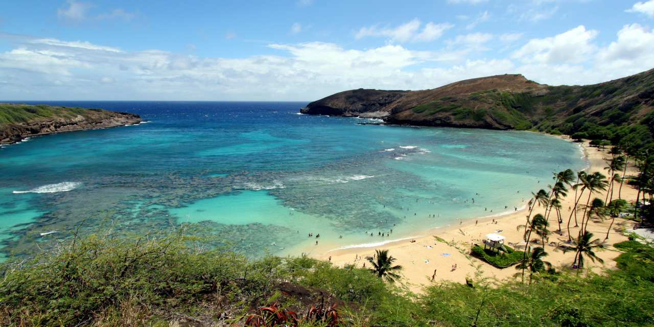Hanauma Bay Nature Preserve, Honolulu-Oahu, Hawaii, Visit in USA