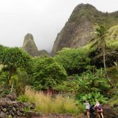 Iao Valley State Monument, Maui, Hawaii, Visit in USA