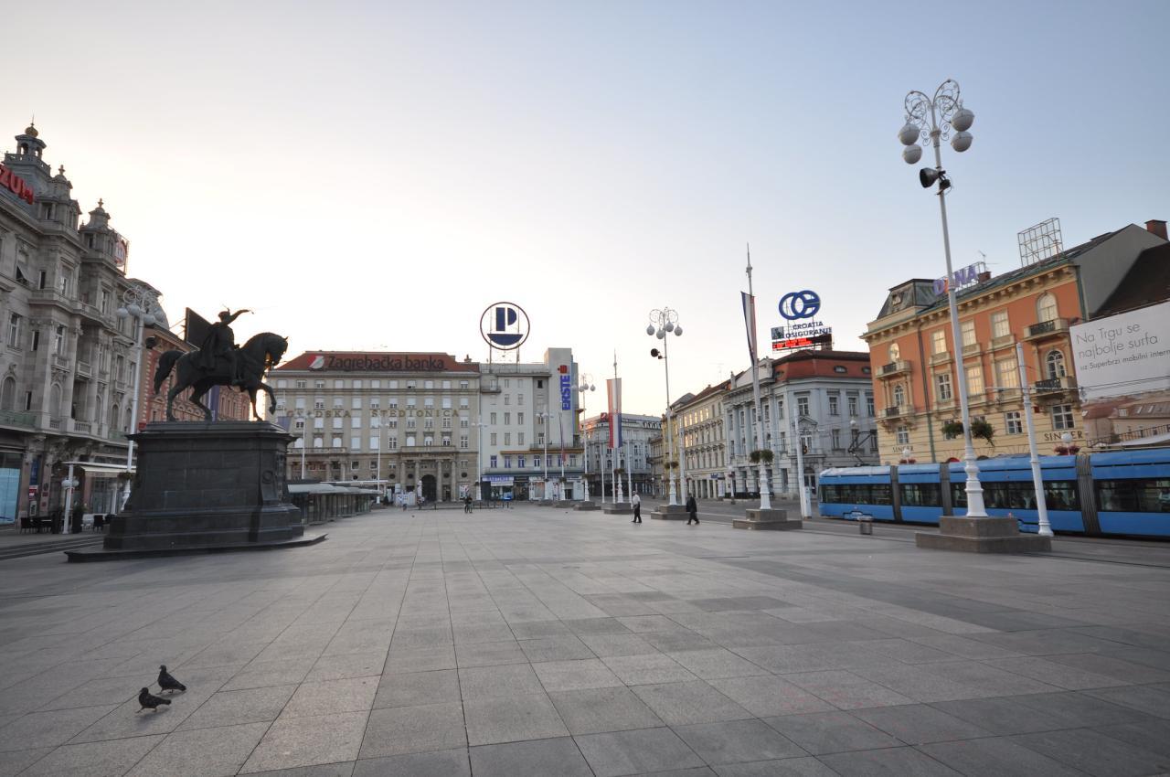 Jelačić Square, Zagreb, Croatia