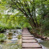 Korana river, Plitvice Lakes National Park, Croatia