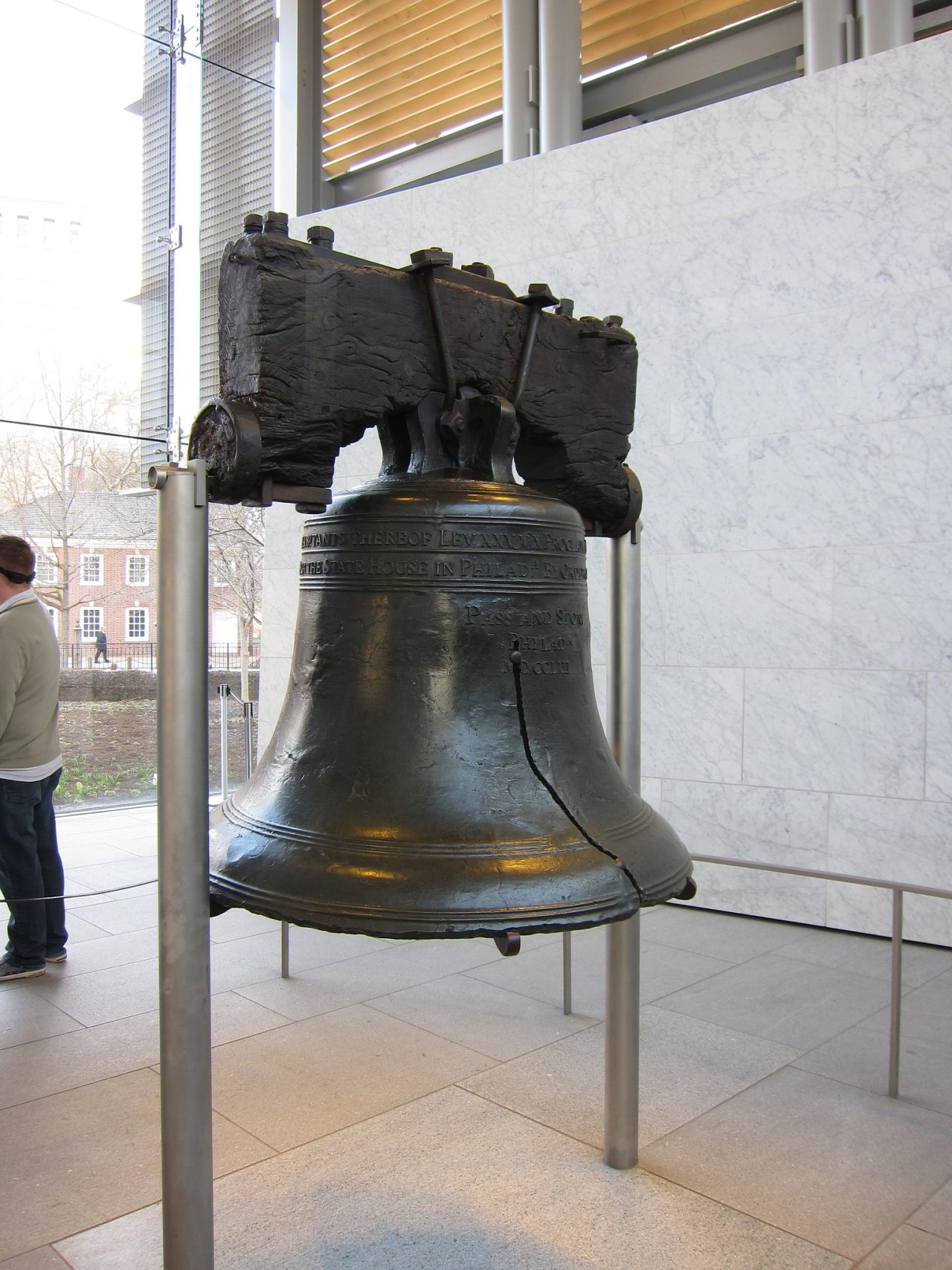 Liberty Bell Center, Philadelphia, Visit in USA