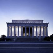 Lincoln Memorial, Washington, D.C., Washington, Visit in USA