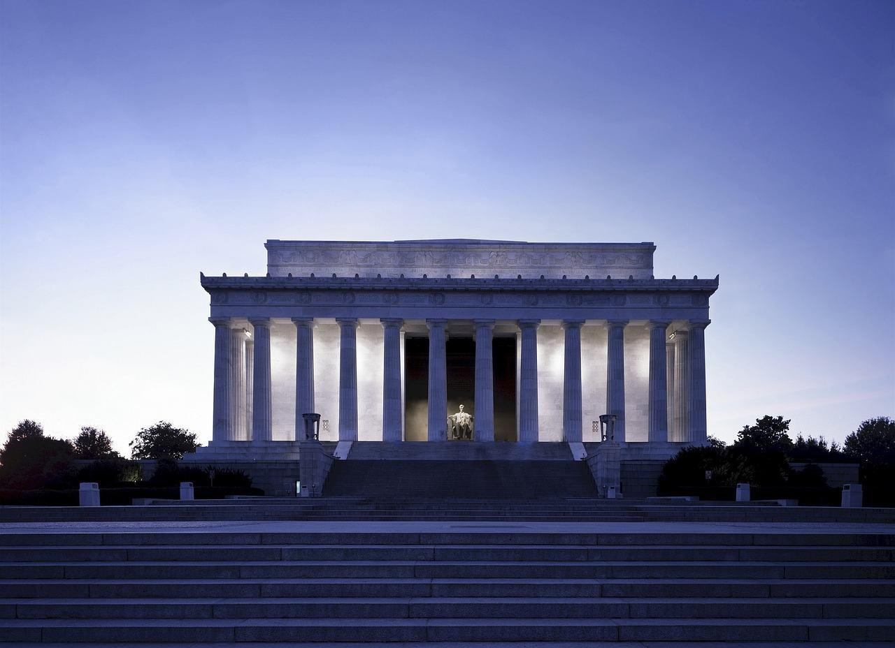Lincoln Memorial,  Washington, D.C., Washington, Visit in USA
