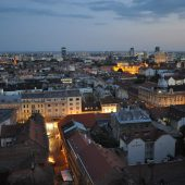 Lower Town, Zagreb, Croatia