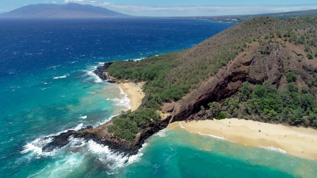 Makena Beach, Maui, Hawaii, Visit in USA