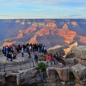 Mather Point Visitor Center, Grand Canyon National Park, Arizona, Visit in USA