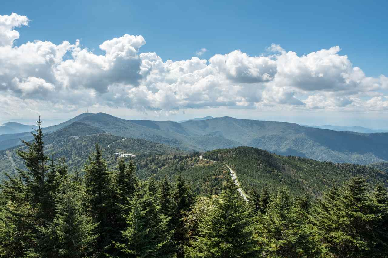 Mount Mitchell State Park, Asheville, North Carolina, Visit in USA