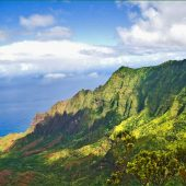 Nā Pali Coast State Wilderness Park, Kauai, Hawaii, Visit in USA