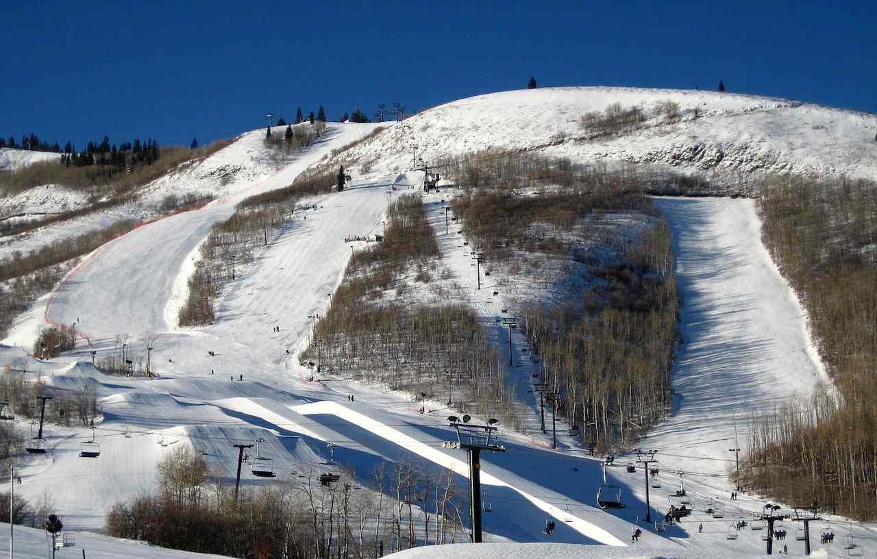 Park City Mountain Resort, Park City, Utah, Visit in USA