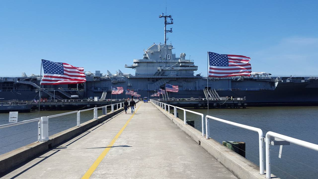 Patriots Point Naval & Maritime Museum, Charleston, South Carolina, Visit in USA