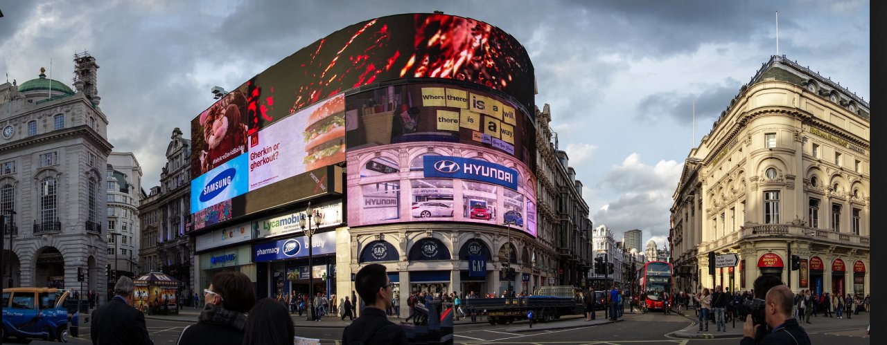 Piccadilly Circus, Places to visit in London