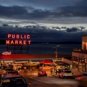 Pike Place Market, Seattle, Washington, Visit in USA