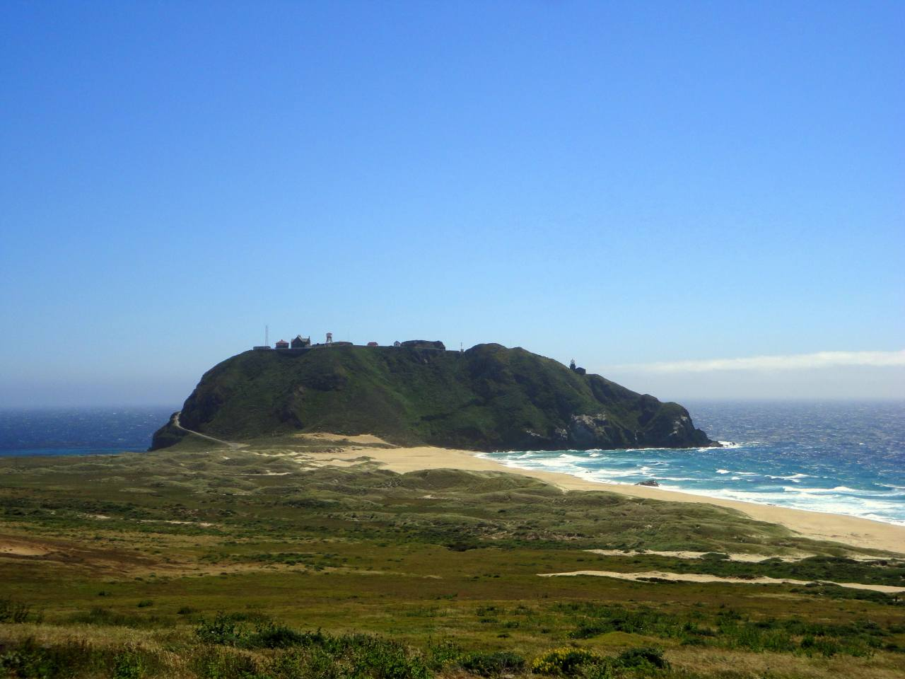 Point Sur State Historic Park, Big Sur, California, Visit in USA