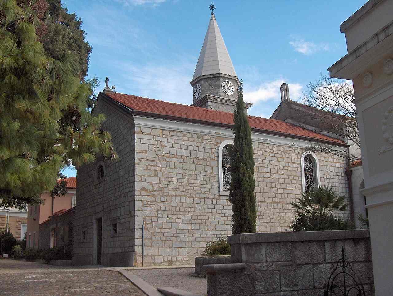 Saint James's Church, Opatija, Croatia