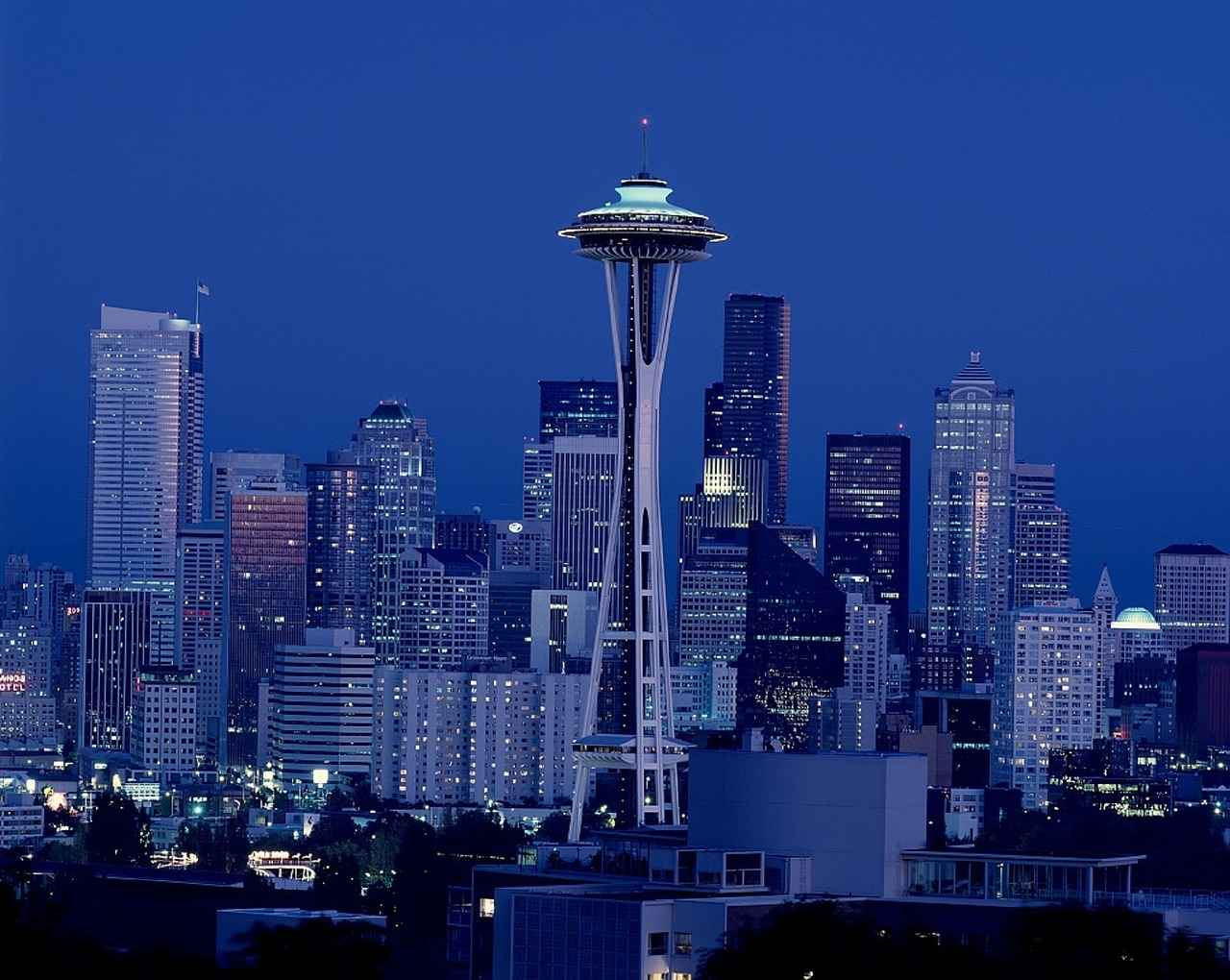 Seattle Center & the Space Needle, Seattle, Washington, Visit in USA