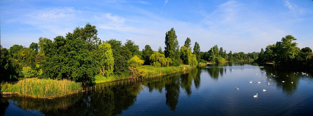 Serpentine, the man-made lake, Hyde Park, Places to visit in London