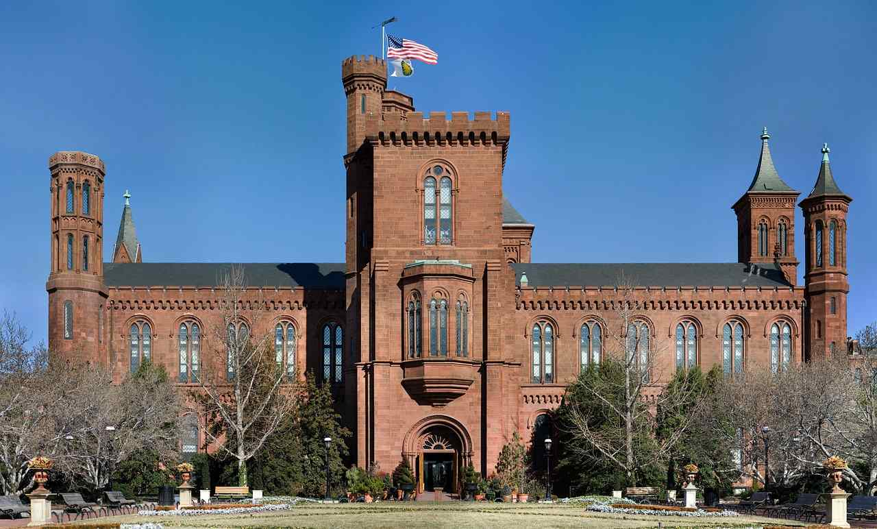 Smithsonian Institution Offices, Washington, D.C., Washington, Visit in USA