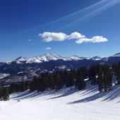 Snow mountains on Breckenridge, Colorado, USA