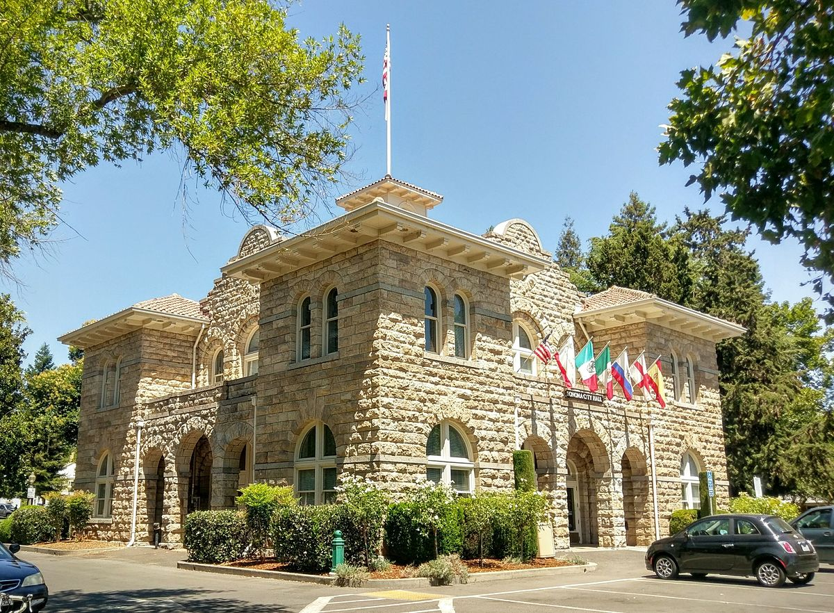 Sonoma City Hall, Sonoma, California, Best places to visit in USA