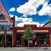 South Main Street, Breckenridge, Colorado, Visit in USA