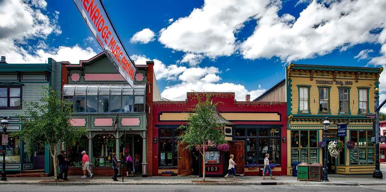 South Main Street, Breckenridge, Colorado, Visit in USA
