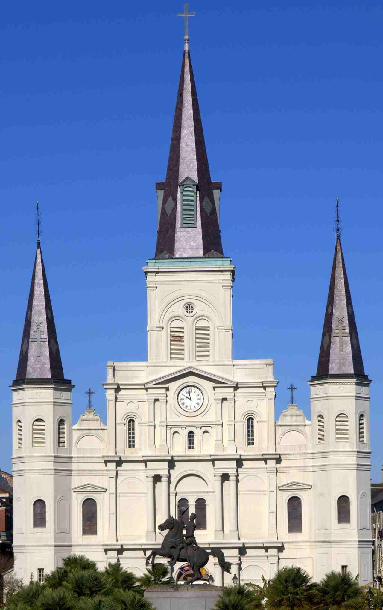 St. Louis Cathedral, New Orleans, Louisiana, Visit in USA