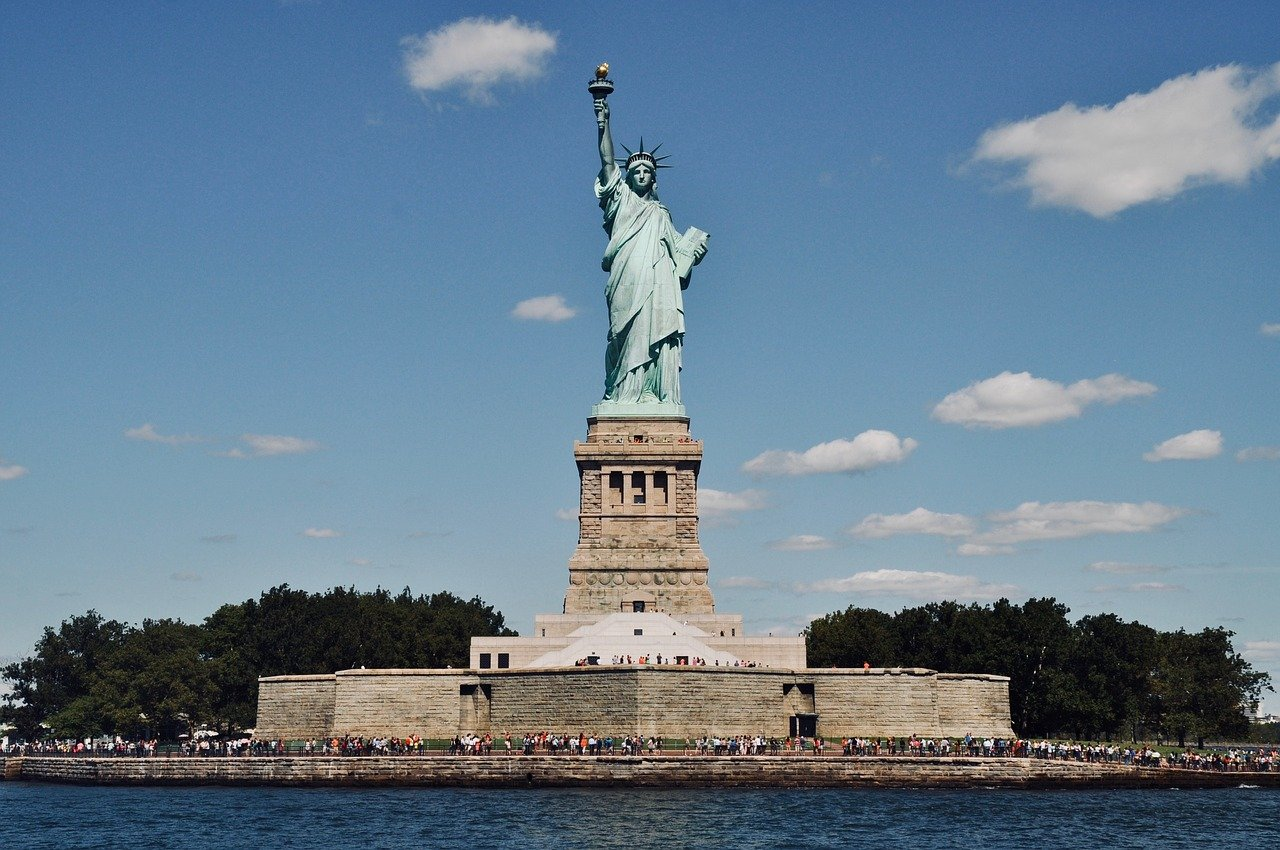 Statue of Liberty, Attractions in New York, Visit in USA