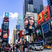 Times Square, Attractions in New York, Visit in USA