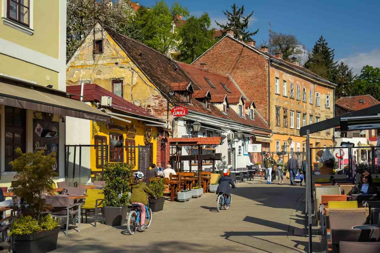 Tkalčićeva Street, Zagreb, Croatia