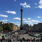 Trafalgar Square, Places to visit in London