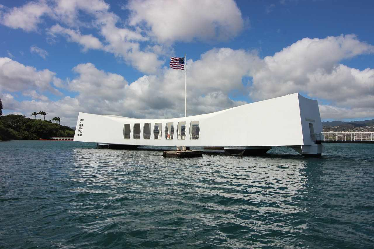 USS Arizona Memorial, Honolulu-Oahu, Hawaii, Visit in USA