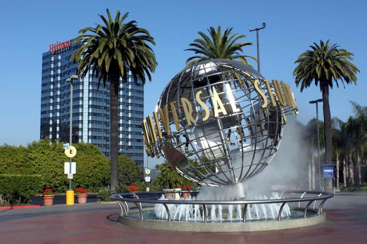 Universal Studios Hollywood, Los Angeles, California, Visit in USA