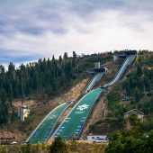 Utah Olympic Park, Park City, Utah, Visit in USA