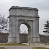 Valley Forge National Historical Park, Philadelphia, Visit in USA