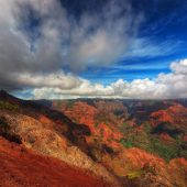 Waimea Canyon State Park, Kauai, Hawaii, Visit in USA