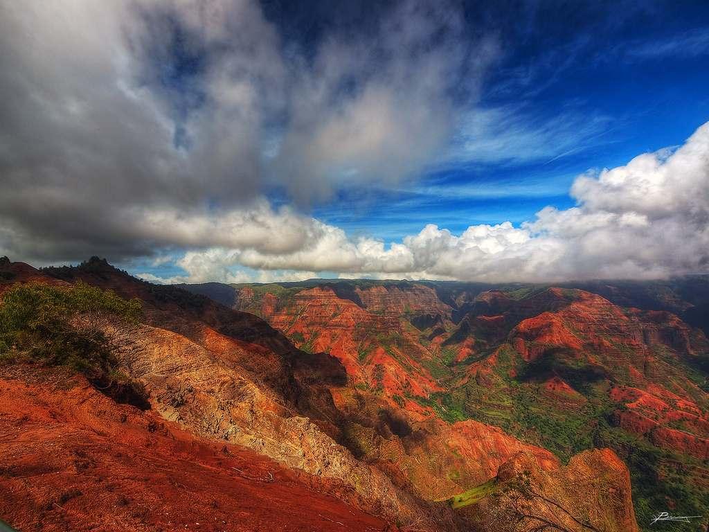 Waimea Canyon State Park, Kauai, Hawaii, Visit in USA