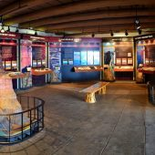 Yavapai Geology Museum, Grand Canyon National Park, Arizona, Visit in USA