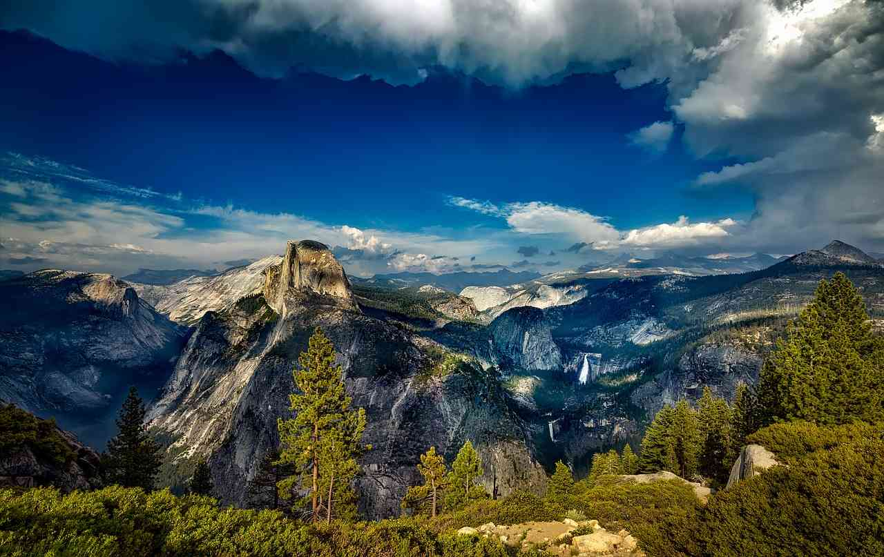 Yosemite Valley, Yosemite National Park, California Visit in USA