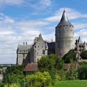 Chateaudun, Castles in France