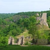 Crozant, Castles in France